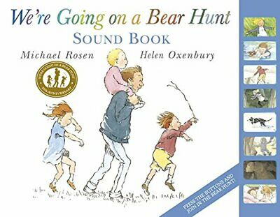 We're Going on a Bear Hunt by Michael Rosen and Helen Oxenbury Hardback NEW Book