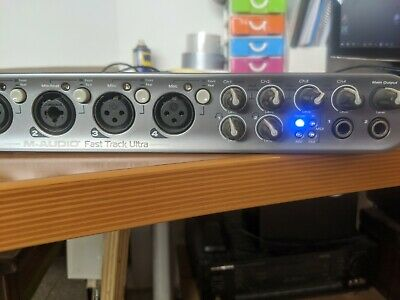 M-Audio Fast Track Ultra 8x8 USB Audio Interface ML03-00385