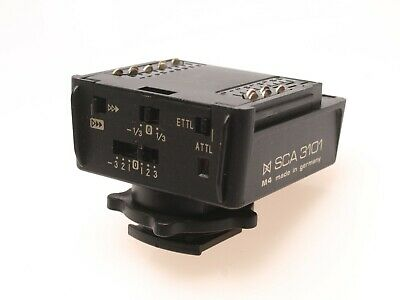 Metz SCA 3101 Flash Adapter for Canon