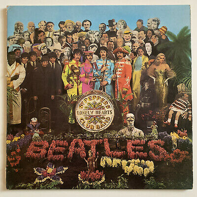 The Beatles - Sgt Pepper's Lonely Hearts Club Band - UK original LP