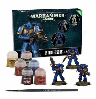Space Marines Easy to Build + Paint Set Intercessors NEW Warhammer 40K