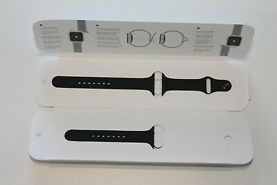 GENUINE Apple Watch 44mm Sport Band MTPL2AM/A - Black OPEN BOX