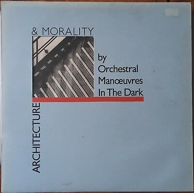 """Orchestral Manoeuvres In The Dark  """"Architecture & Morality"""" DinDisc DID-12 1981"""