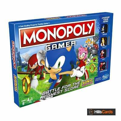 Sonic The Hedgehog Monopoly Gamer Board Game By Hasbro Gaming