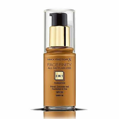 Max Factor Facefinity 3-in-1 All Day Flawless Foundation, SPF 20, 95 Tawny 30mL