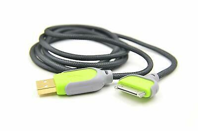 CABLE CHARGEUR USB RENFORCÉ IPHONE 4 4S 3 3S iPAD iPOD TOUCH 2 SYNCRO LIGHTNING