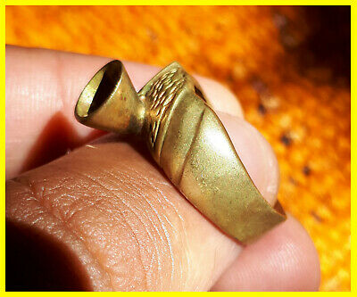 Rare ancient Interesting bronze ring legionary artifact antique original amazing