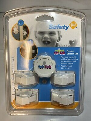 Safety 1st Magnetic Tot Lok Complete Set  NWT