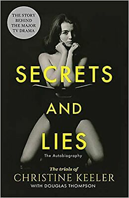 Secrets and Lies: The Trials of Christine Keeler Paperback Book NEW