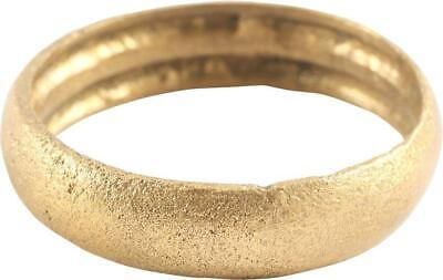 Ancient Viking Man's Wedding Ring, 9Th-10Th Century Ad, Size 10