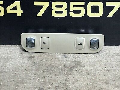 AUDI A3 8P Interior Rear Roof Reading Light in Beige 8E0947111B