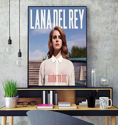 Lana Del Rey Born To Die Album Cover Poster Professional Grade Gloss Photo Print