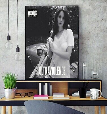 Lana Del Rey Ultraviolence Album Cover Poster Professional Grade Photo Print HD