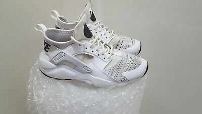 Nike Air Huarache Run Ultra SE 942121-100  White/Anthracite Size 3.5