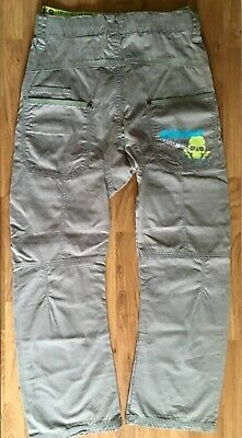 Next Boys Skater style Trousers pants grey 9 Years 134cm cotton