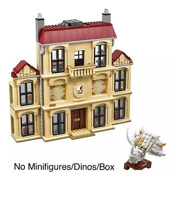 Lego 75930 Jurassic World - Rampage At Lockwood Estate ONLY (No Dinos/Minfigs)