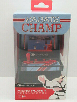 My Arcade Karate Champ Micro Player Retro Arcade Game New