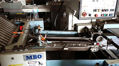 MBO T65 Folder Flat Bed Type B-26-2-26/444 with Right Angle