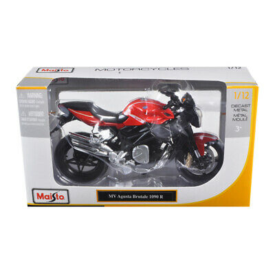 MAISTO 1:12 MOTORCYCLE MV AGUSTA BRUTALE 1090 RR RED//SILVER 20-11097RDSIL