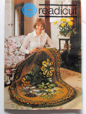 Vintage Readicut Carpet-Making Catalogue 24 Pages With Wool Sample Strip