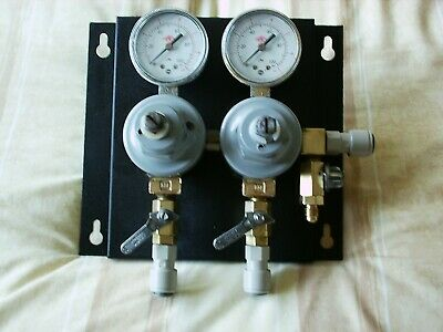 Taprite Triple Co2 3 Off Secondary Regulator With John Guest Fittings