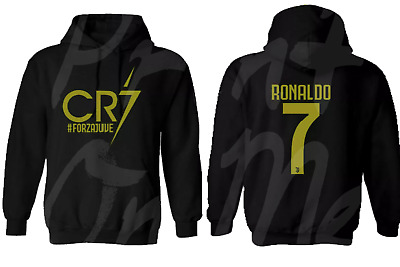 Cristiano Ronaldo Hoodie, Cr7 Juventus Forza Football Lovers Great Present