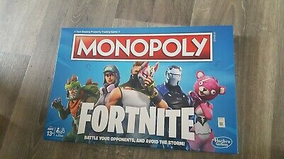 Fortnite Monopoly - UK Release Board Game Complete Boxed VGC Fortnight