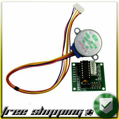 ● 28BYJ-48 5V 4 Phase DC Gear Stepper Motor + ULN2003 Driver arduino chip module