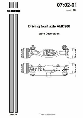 PDF Download Scania Engine Workshop Manual Driving Front Axel AMD900