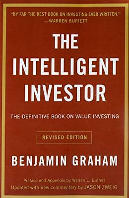 The Intelligent Investor by Benjamin Graham Paperback NEW Book