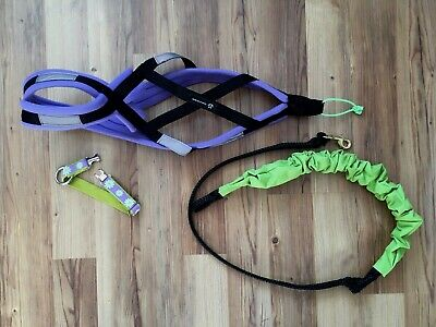 Weight Pulling Sled Dog X-Back Harness 30-40 lbs | Canicross | Skijoring