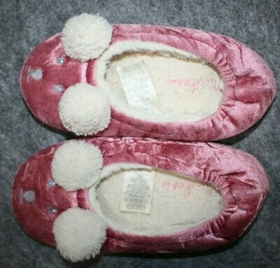 Mini Boden Slippers Pink Girl's Size EU 30 US Size 12.5