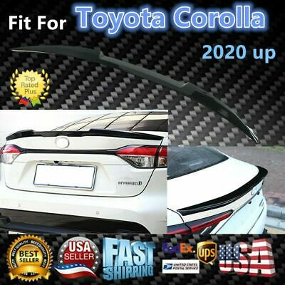 Fit For Toyota Corolla 2020 up Glossy Black Rear Tail Trunk Spoiler Wing