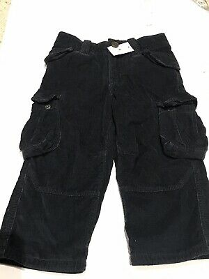 Baby Gap Navy Blue Cord Trousers - Sz 2 Yrs - BNWT