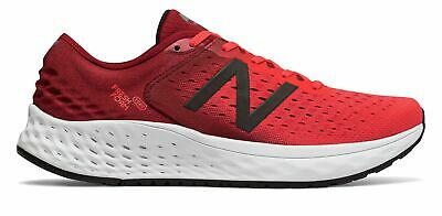 New Balance Men's Fresh Foam 1080v9 Shoes Red with Black