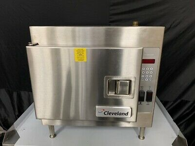 Cleveland 21CET8 Electric Countertop Steamer with Electronic Timer