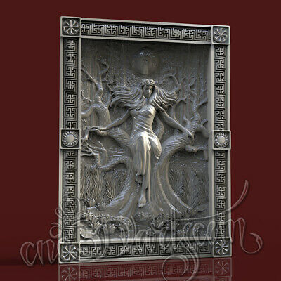3D Model STL for CNC Router Artcam Aspire Nordic Demigod Mara Panel Cut3D Vcarve