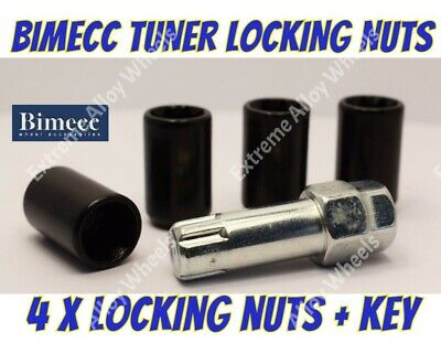 Locking Wheel Nuts B Tuner M12x1.5 Fits Toyota 4 Runner HiLux Land Cruiser