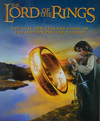 NEW ZEALAND 2003 'Lord of Rings' 18-coin BU set Mint packaging