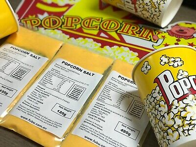 Popcorn Cinema Cooking Salt120 G  And Butter Powder Topper 120 G Duo
