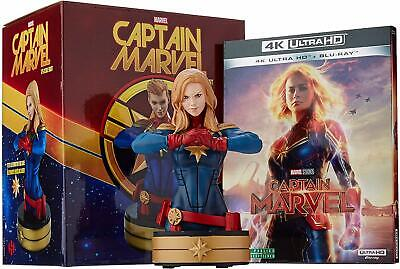 Captain Marvel: 4K Ultra HD (blu-ray & Figure)(2019) Brie Larson, Djimon Hounsou