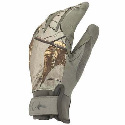 Sealskinz Waterproof All Weather Camo Unisexe Gants - Realtree Xtra Beige