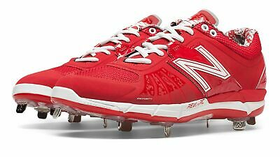 New Balance Low-Cut 3000v2 Metal Baseball Cleat Mens Shoes Red Size 15 D