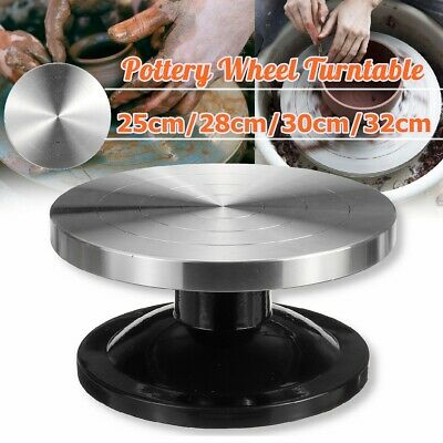 25-32CM Aluminum Alloy Pottery Wheel Turntable Turnplate Clay Sculpture Tool