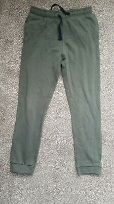 Used Boys Khaki Slim Fit Joggers - Size 10 years.