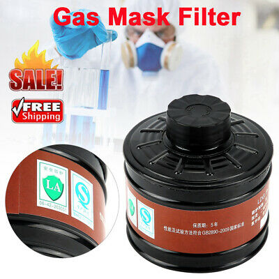 Gas Mask Filter 40mm Respirator Canister Practical Replacement Accessory ABS