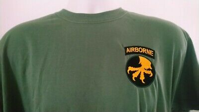 USA UNITED STATES ARMY 17th AIRBORNE DIVISION T-SHIRT