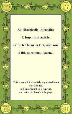 Restoration of Land to Pasture. An original article from the Transactio. 238099