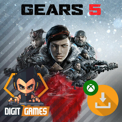 Gears 5 / Gears of War 5 - Xbox One / Windows 10 PC - Digital Download Only