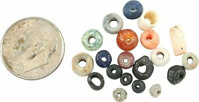 ANCIENT VIKING BEAD ASSORTMENT 9th-10th CENTURY